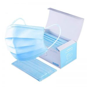 DISPOSABLE 3 PLY MEDICAL FACE MASKS -STERILE