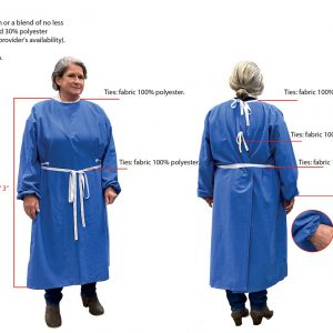 REUSABLE WASHABLE SURGICAL GOWNS MADE IN USA