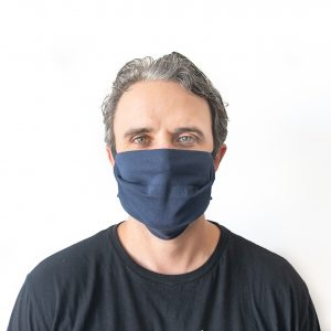 USA Made Reusable Mask  (Blue)