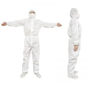 DISPOSABLE ISOLATION SUIT
