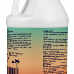1 GALLON HAND SANITIZER(UNSCENTED) – MADE IN USA